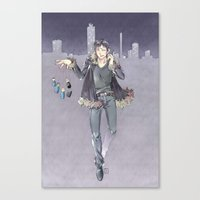 durarara Canvas Prints featuring kanra-san by Prince