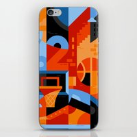 basketball iPhone & iPod Skins featuring Basketball by koivo