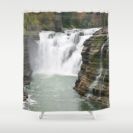 Letchworth Upper Falls Shower Curtain