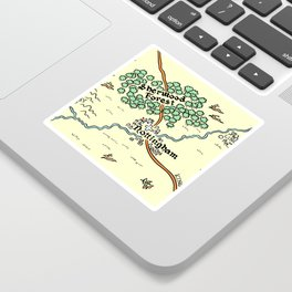 Sherwood Forest Sticker