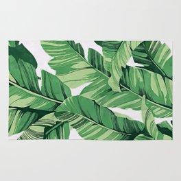 Tropical banana leaves V Rug