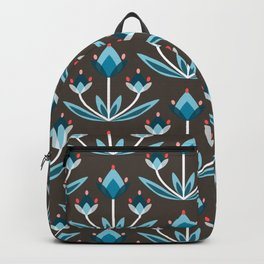 Daily pattern: Retro Flower No.10 Backpack
