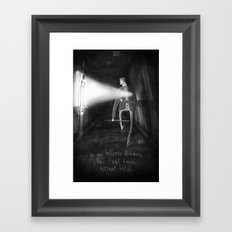 James Sunderland from Silent Hill 2 Framed Art Print