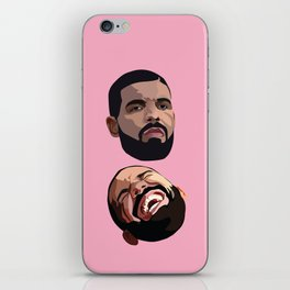 COMEDY & TRAGEDY iPhone Skin