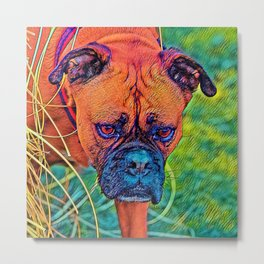 AnimalColor_Dog_027_by_JAMColors Metal Print