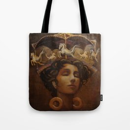 Brass Ring Dream Tote Bag