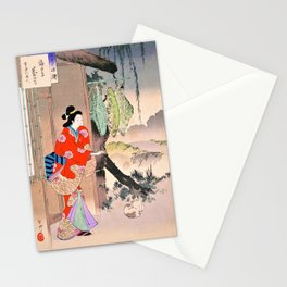 Mizuno Toshikata - Top Quality Art - AMIGASACHAYA Stationery Cards