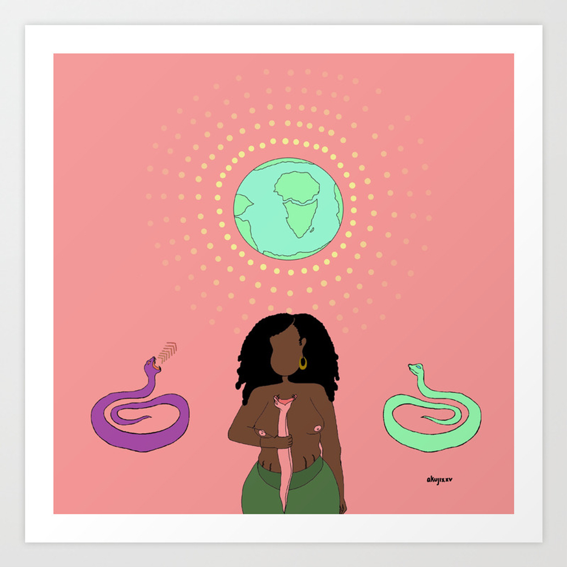 Frequencies Art Print by Akujixxv PRN4026905