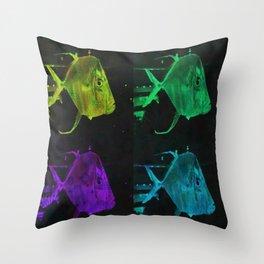 4 Fish Throw Pillow
