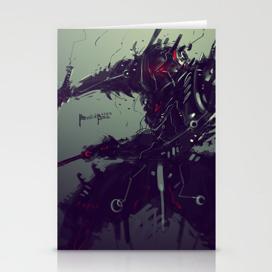 """Judgement Day """"Solaris"""" Stationery Cards"""