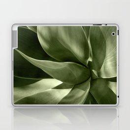 Green Agave Plant Laptop & iPad Skin