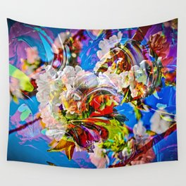 Abstract Perfection 14  Spring Wall Tapestry