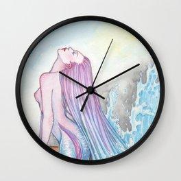 Fluid - MerMay 2018 Wall Clock