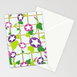 Vintage Japanese cool star pattern Stationery Cards