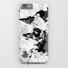 world map political marble Slim Case iPhone 6s
