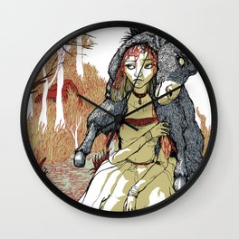 Donkey Skin Wall Clock