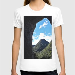 View From Inside The Cave T-shirt