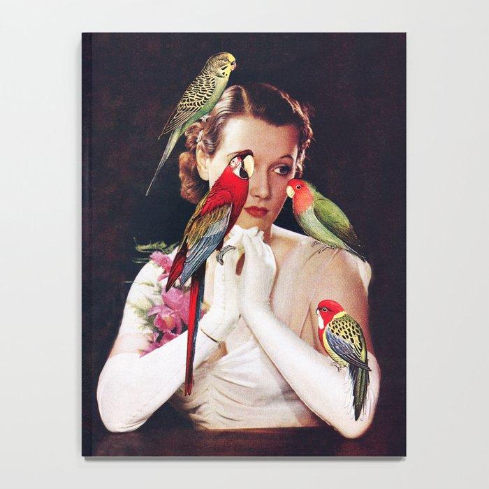 Bird Lady Notebook