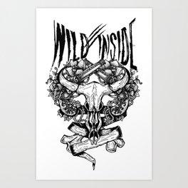 Wild Inside 1 Art Print