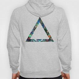 dark neon triangle Hoody
