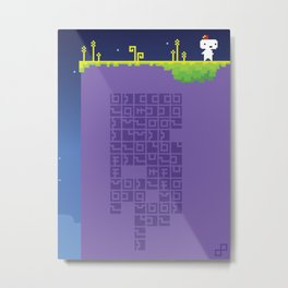 FEZ - Conspire to Tesselate Metal Print