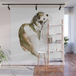 Totem Eurasian River Otter Wall Mural