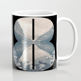 Nr. 8 | Numbers with a View | Typography Letter Art Coffee Mug