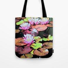 Lilypads Tote Bag