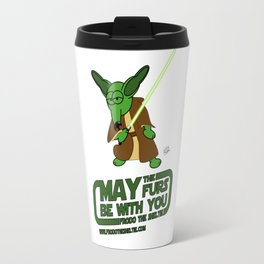 Frod0 the Sheltie: May the Furs Be With You (Nina) Travel Mug