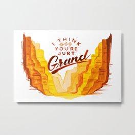 Grand As a Canyon Metal Print