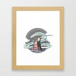 Chihiro (Spirited Away) Framed Art Print