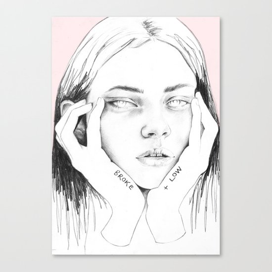 broke+low Canvas Print