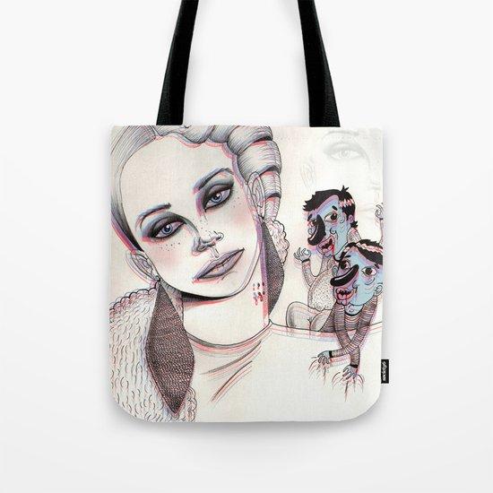 3D Nightmare Tote Bag