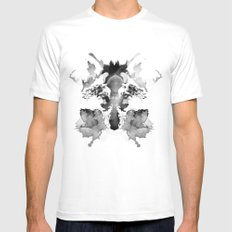 Rorschach White MEDIUM Mens Fitted Tee