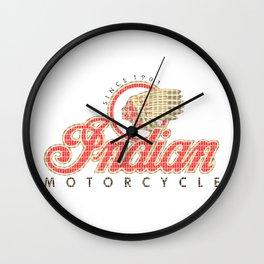 Indian Motorcycle Wall Clock