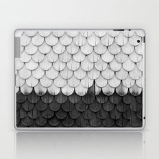 SHELTER / white and black Laptop & iPad Skin