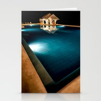 bar Stationery Cards featuring Pool Bar by Adrian Evans