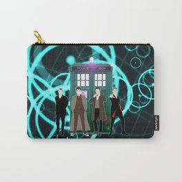 The Doctors And Tardis Carry-All Pouch