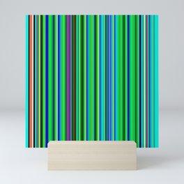 Colorful Barcode Mini Art Print