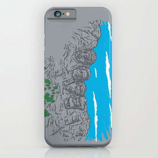 Presidents on a Mountain iPhone & iPod Case