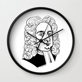 Jonathan Swift Wall Clock