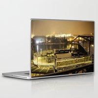 prague Laptop & iPad Skins featuring Prague 5 by Veronika