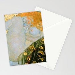 "Gustav Klimt ""Danaë"" Stationery Cards"