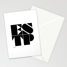 Type Type for ESTP Stationery Cards
