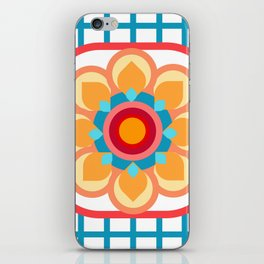 Scandi Candi Flower iPhone Skin