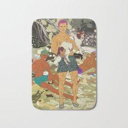 Sun Bronzed Hunks Bath Mat