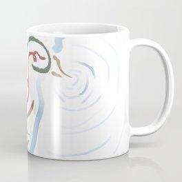 Line Duck Coffee Mug