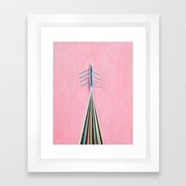 The Rowers Framed Art Print