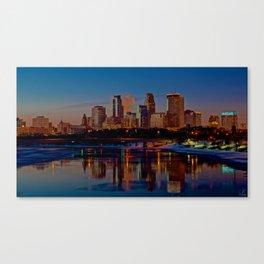 Morning Skyline Canvas Print