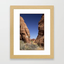 Mountain Clearing Framed Art Print